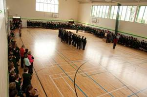 St. Mary's Secondary School New Ross - Sports Hall